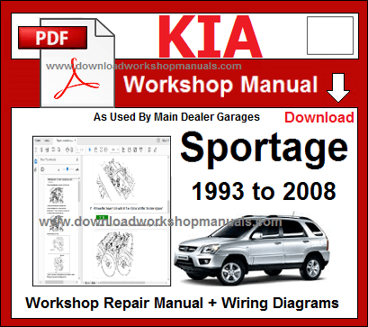 Kia Sportage Service Repair Workshop Manual Download