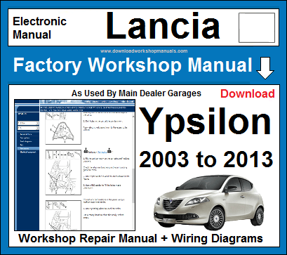 Lancia Ypsilon workshop repair manual download