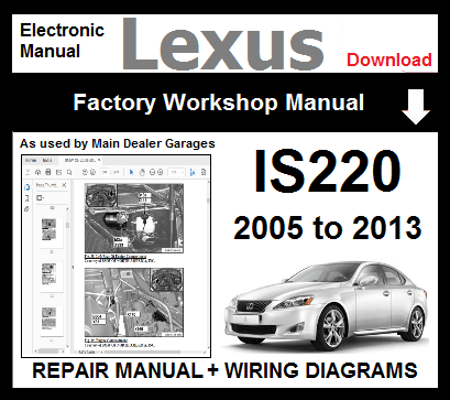 Lexus IS220 Service Repair Workshop Manual