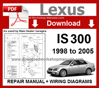 Lexus IS 300 Workshop Service Repair Manual