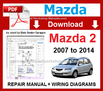 Mazda 2 Workshop Repair ManualDownload Workshop Manuals .com