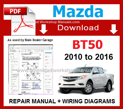 2011 2012 2013 mazda bt50 service manual