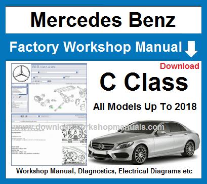 Mercedes C Class Workshop Repair Manual
