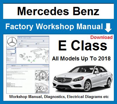 Mercedes E Class Service Repair Manual