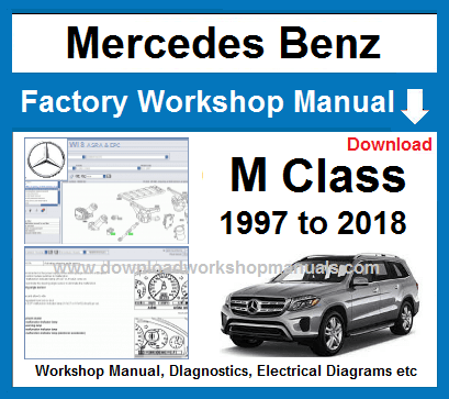 Mercedes M Class Workshop Service Repair Manual