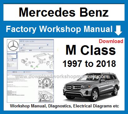 Mercedes M Class Workshop Repair Manual