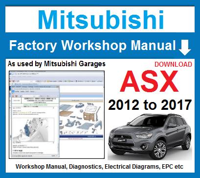 mitsubishi repair manual free download