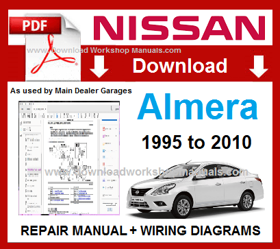 Nissan Almera Workshop Service Repair Manual Download PDF