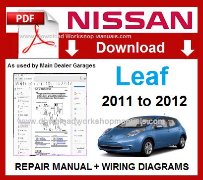 Nissan Leaf Service Repair Manual Download