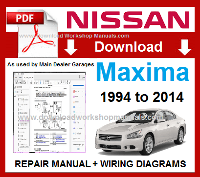 Nissan Maxima Workshop Service Repair Manual PDF