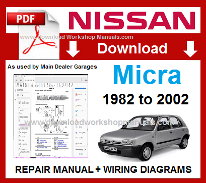 Astonishing Nissan Micra K10 K11 Service Repair Manual Download Wiring 101 Ferenstreekradiomeanderfmnl