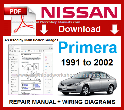 Nissan Primera Workshop Manual PDF