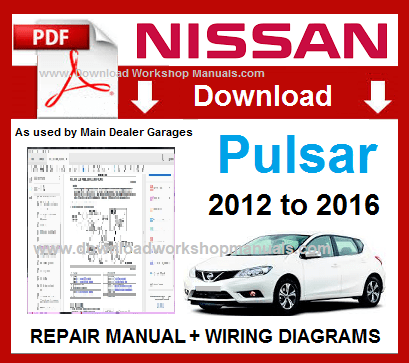 Nissan Pulsar Workshop Repair Manual