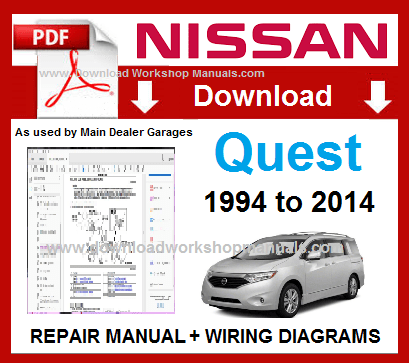 nissan quest service repair manual download  download workshop manuals .com