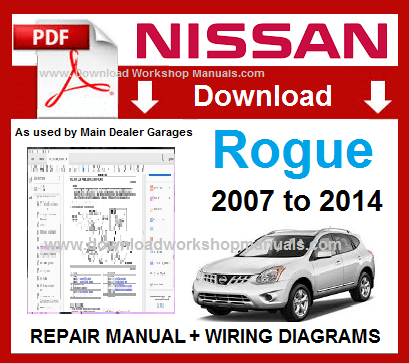 Nissan Rogue PDF Workshop Repair Manual