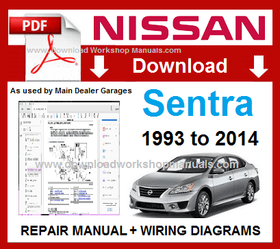 NISSAN SENTRA B16 WORKSHOP SERVICE MANUAL DOWNLOAD