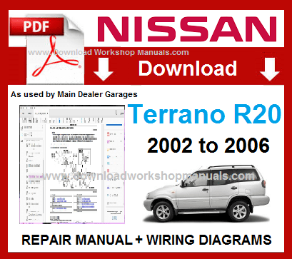 Nissan Terrano Workshop Repair Manual