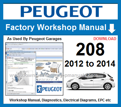 peugeot 208 service manual