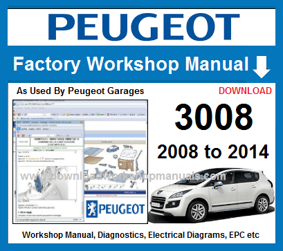 Peugeot 3008 Workshop Repair Manual Download
