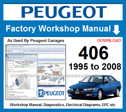 Peugeot 406 Workshop Repair Manual Download