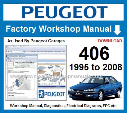 peugeot 406 workshop manual