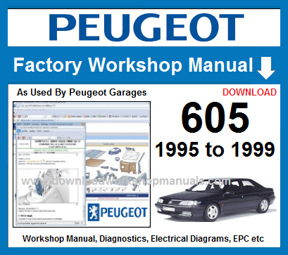 Peugeot 605 Service Repair Manual Download