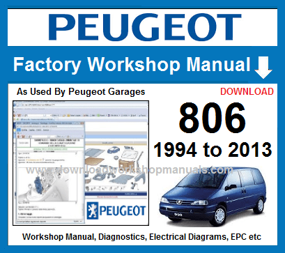 Peugeot 806 Workshop Repair Manual