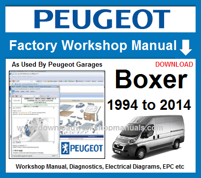 peugeot boxer workshop repair manual download