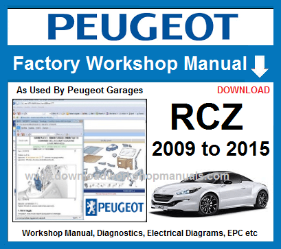 Peugeot RCZ Service Repair Manual Download
