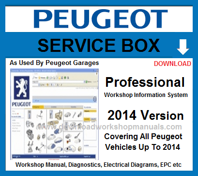 Peugeot Service Repair Workshop Manual Download