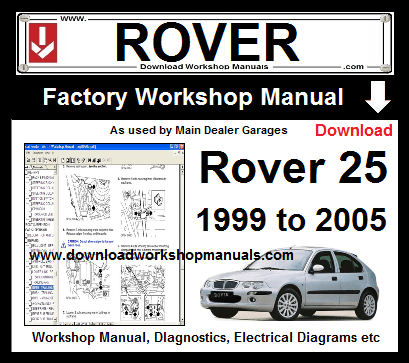 [DIAGRAM_4PO]  Rover 25 Workshop Repair Manual Download | Rover 25 Wiring Diagram |  | Download Workshop Manuals .com