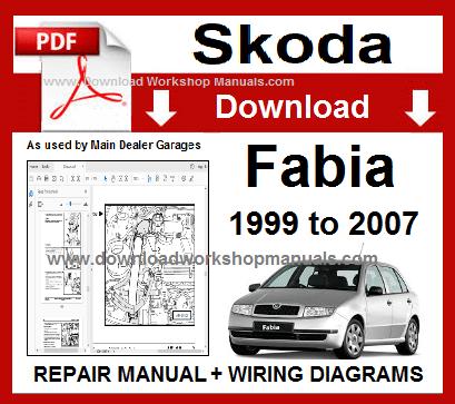 skoda workshop manuals  skoda fabia workshop manual
