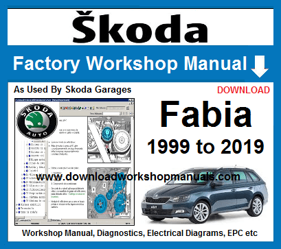 Skoda Fabia Workshop Repair Manual