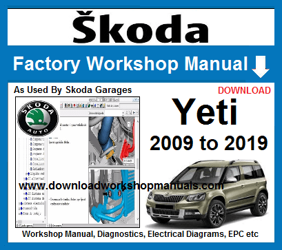 Skoda Yeti Workshop Manual Download