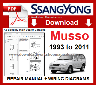 Daewoo Musso Wiring Diagram - Wiring Diagram & Cable Management on