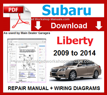 Subaru Liberty Workshop Repair Manual Download
