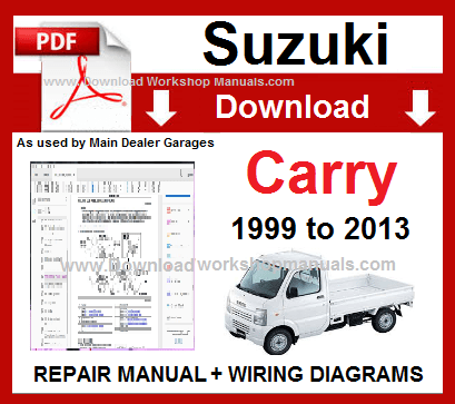 Suzuki Carry Service Repair Workshop Manual