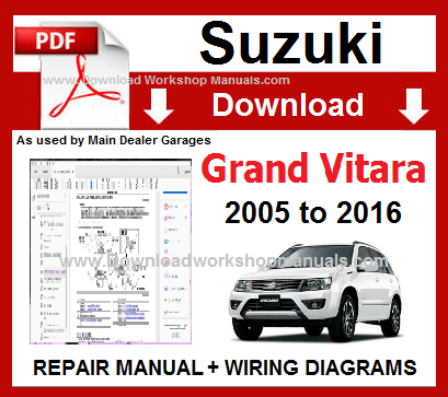 Suzuki Vitara Wiring Diagram Pdf - Wiring Diagram K10 on
