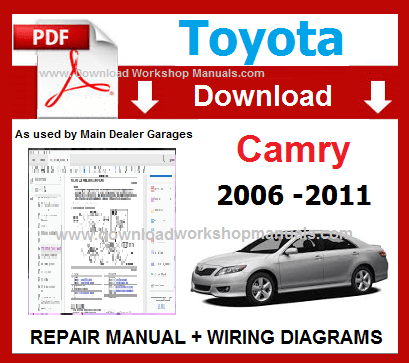 Toyota Camry Workshop Repair Manual Download pdf