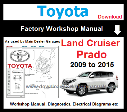 Toyota LandCruiser Prado Workshop Repair Manual