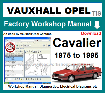 Vauxhall CavalierWorkshop Repair Manual