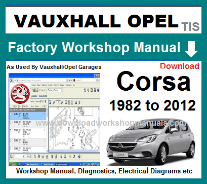 Vauxhall Corsa Service Repair Manual