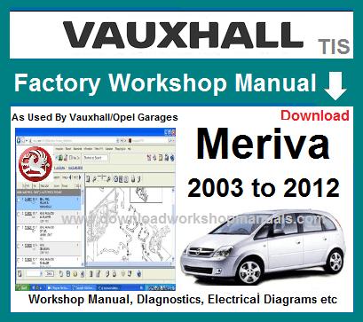 opel meriva 2004 wiring diagram vauxhall meriva service repair manual  vauxhall meriva service repair manual