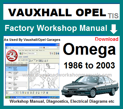 Vauxhall Omega Workshop Repair Manual