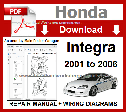 Honda Integra Workshop Repair Manual
