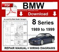 />/> OFFICIAL WORKSHOP Manual Service Repair BMW Series 8 E31 1989-1999