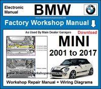 bmw mini workshop repair manuals download