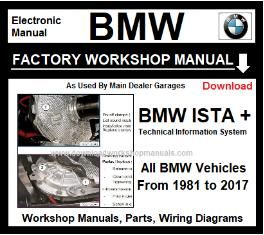 BMW ISTA Workshop Repair Service Manual Download