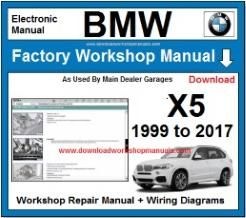 BMW X5 Workshop Repair Manual Download