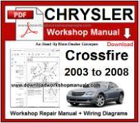 chrysler crossfire manuals